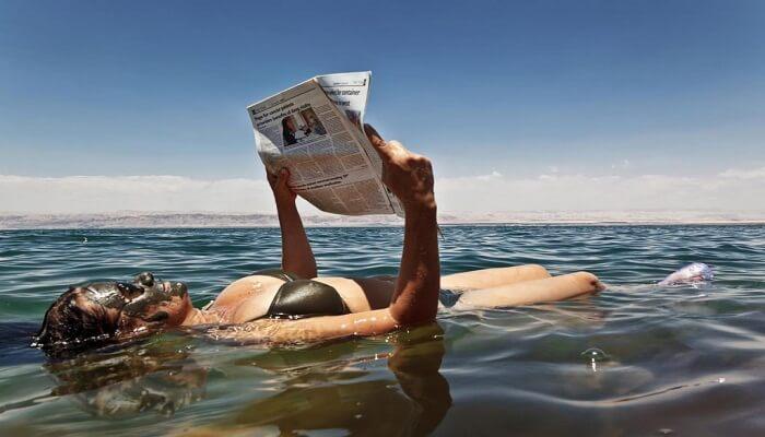 Por Qué Se Flota En El Mar Muerto