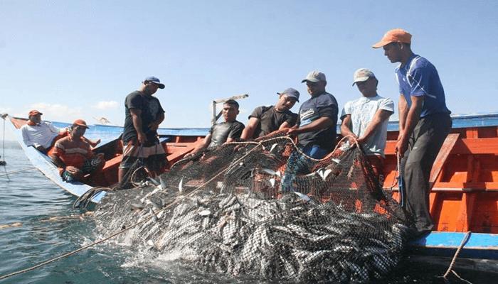 pesca es el único comienzo de provisiones