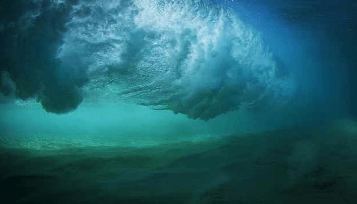 Olas Gigantes Submarinas