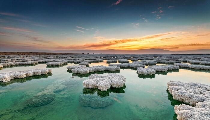 Nivel De Sal En El Mar Muerto